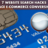 7 Website Search Hacks to Ace E-Commerce Conversions