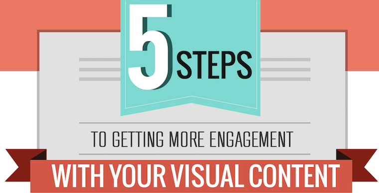 5 Steps to Increased Visual Content Engagement | #Infographic