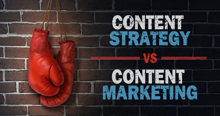 What's the Difference? Content Strategy vs. Content Marketing