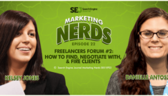 Freelancers Forum II: How to Find, Negotiate With, & Fire Clients #MarketingNerds