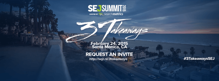SEJ Summit Santa Monica 2015