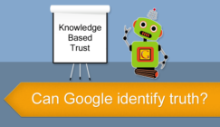 Review of Google's Knowledge Based Trust | SEJ