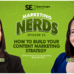 Michelle Lowrey and Kelsey Jones Marketing Nerds Podcast: Content marketing strategy