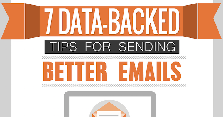 Send Better Emails Using These 7 Data-Backed Tips [INFOGRAPHIC]