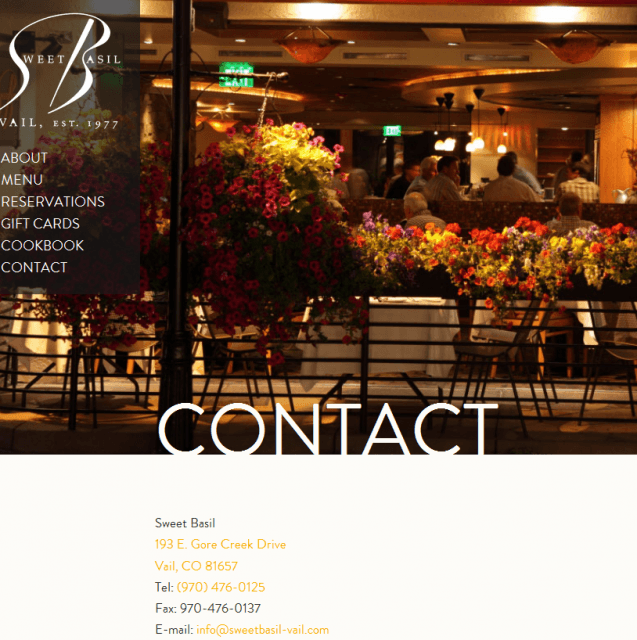 25 Amazing Contact Us Pages | SEJ