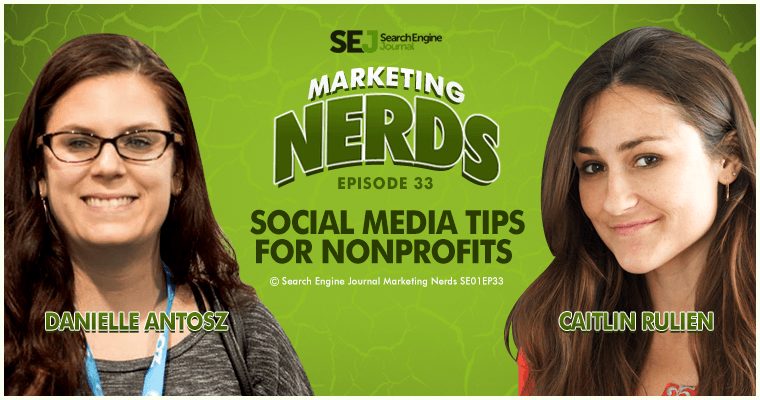 New #MarketingNerds Podcast: Social Media Tips for Non-Profits