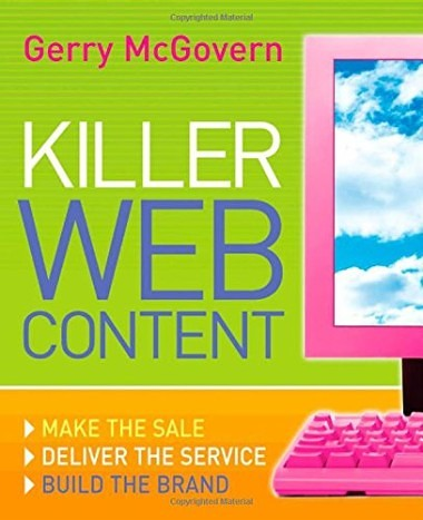 #SEJBookClub: Killer Web Content by Gerry McGovern | SEJ
