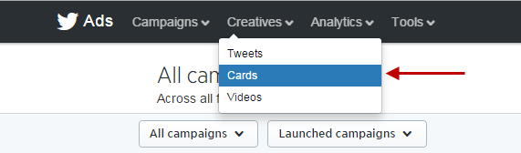 how to get twitter ads