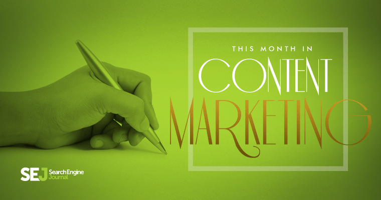 This Month In #ContentMarketing: May 2015
