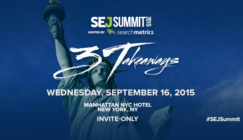 Save the Date for #SEJSummit New York: September 16, 2015