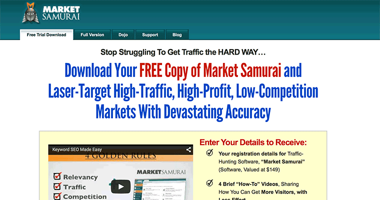 Market Research Keyword Traffic Tool