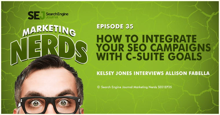 New on #MarketingNerds: How to Integrate #SEO With C-Suite Goals