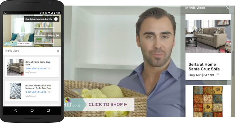 Google Product Listing Ads Come to YouTube Allowing Retailers to Promote Own Products