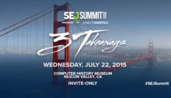 SEJ Summit Silicon Valley! | SEJ