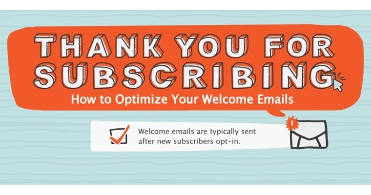 How to Optimize Your Welcome Emails [INFOGRAPHIC]