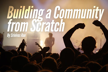 Community Building From Scratch