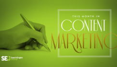 This Month in #ContentMarketing: August 2015 | SEJ