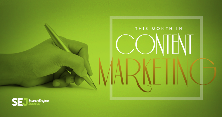 This Month in #ContentMarketing: August 2015