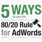 5 Ways to Use the 80/20 Rule for AdWords | SEJ