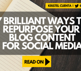 7 Effective Ways to Repurpose Your Blog Content for Social Media