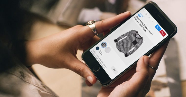 "Pinterest Adds One-Click Shopping With ""Buyable Pins"""