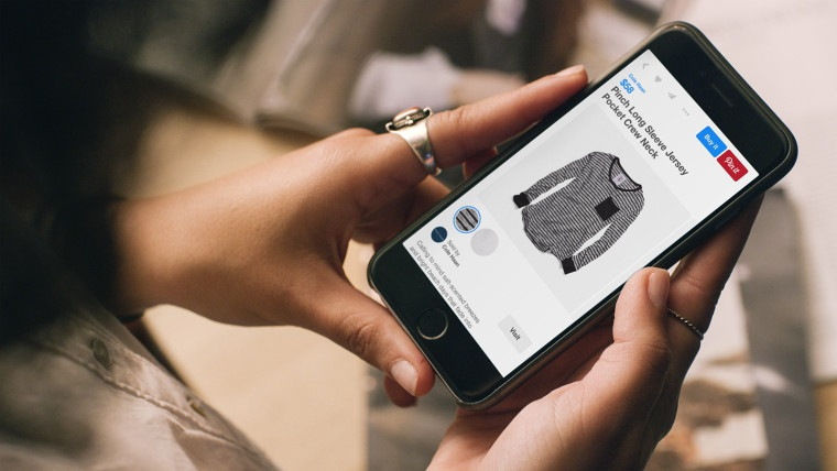 """Pinterest Adds One-Click Shopping With """"Buyable Pins"""""""