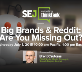 Webinar Recap: Big Brands & #Reddit with Brent Csutoras