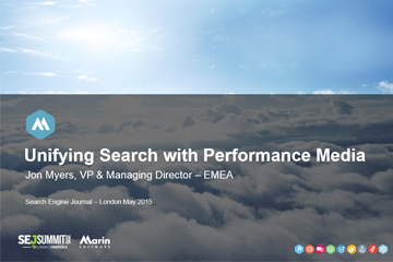 Unifying Search with Performance Media