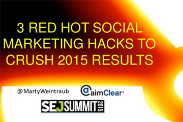 3 Red Hot Social Marketing Hacks To Crush 2015 Results
