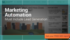 Marketing Automation Must Include Lead Generation | SEJ