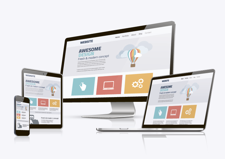 responsive design is the easiest solution for mobile-friendly web design