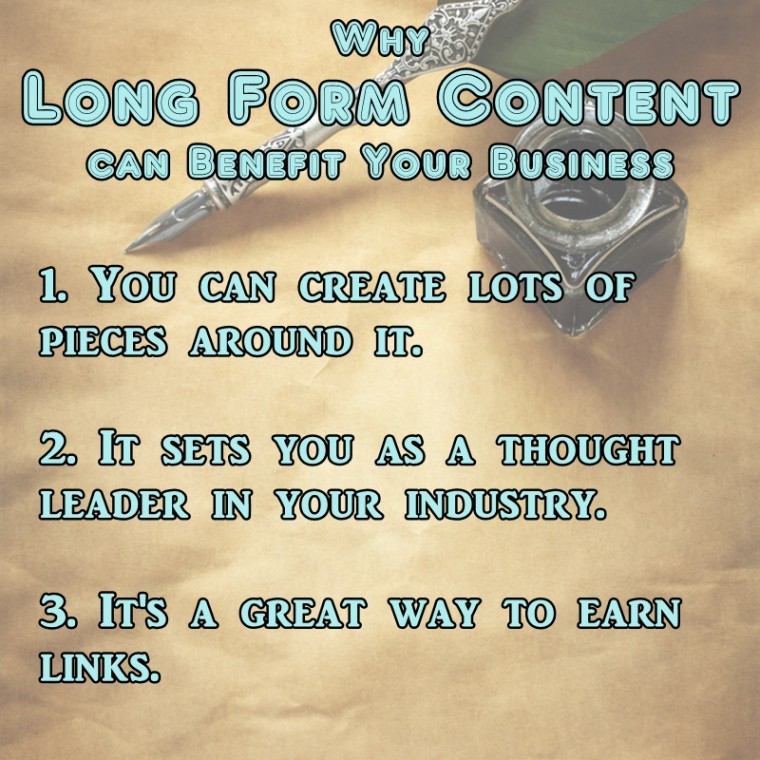 #MarketingNerds: Benefits of Long Form Content | SEJ