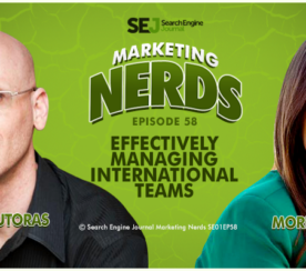 New #MarketingNerds Podcast: Effectively Managing International Teams with Moriah Scoble