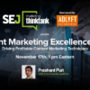 #SEJThinkTank Recap: Content Marketing Excellence in 2016: Driving Profitable Content Marketing Techniques