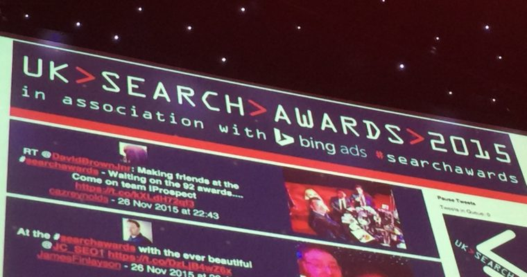 2015 UK Search Awards Winners Announced at Fifth Annual Ceremony in London