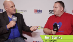 Jim Banks Jordan Koene Pubcon interview on mobile