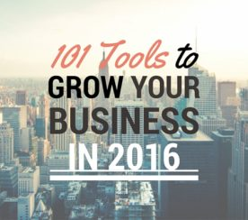 101 Tools to Grow Your Business