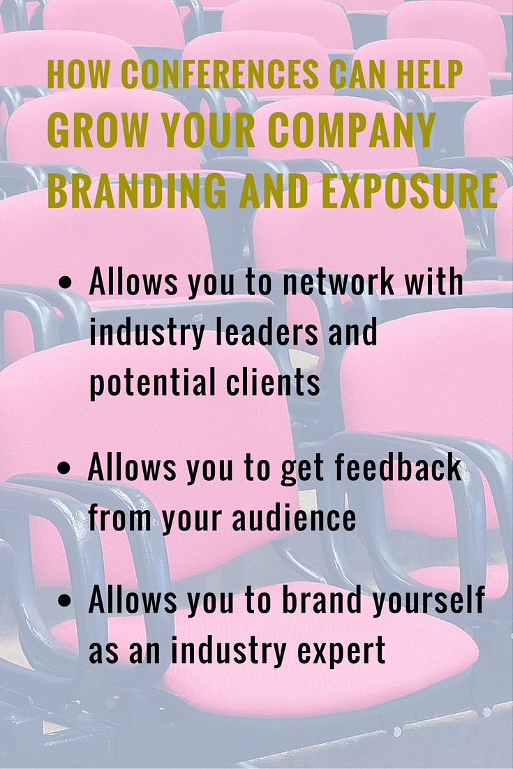 How Conferences Can Help Grow Your Company Branding and Exposure