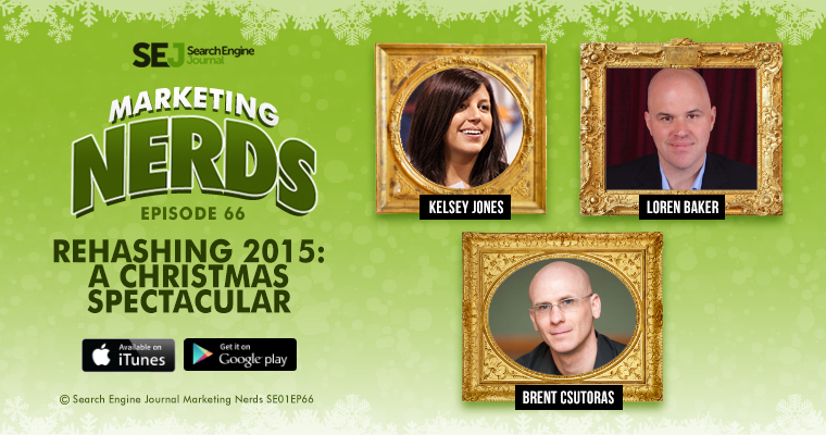 Rehashing 2015: A #MarketingNerds Christmas Spectacular