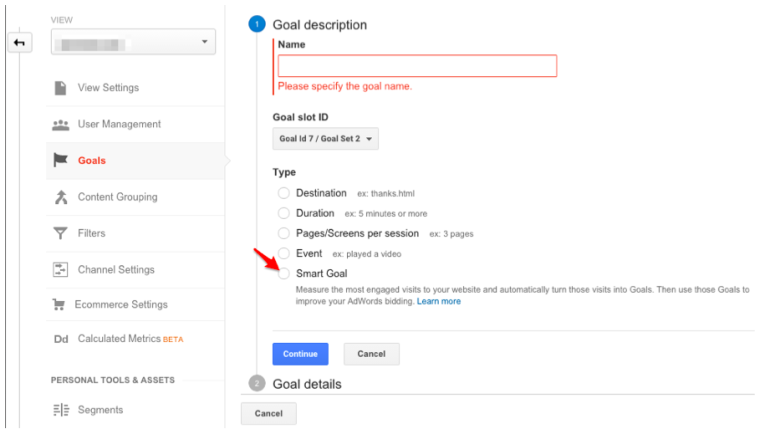 Smart Goals: Google Analytics and AdWords | SEJ