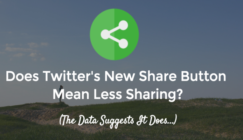 Does Twitter's New Share Button Mean Less Sharing?