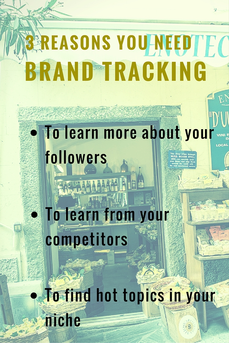 3 Reasons You Need Brand Tracking