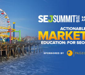 Google, Microsoft, Disney, LinkedIn, and More: The Agenda For #SEJSummit Santa Monica