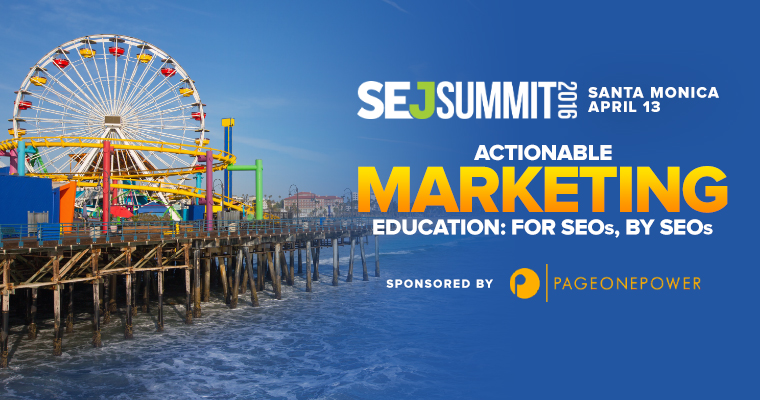 See the Complete Keynote Lineup for #SEJSummit Santa Monica: Google, LinkedIn, Disney, & More