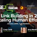 Real Link Building in 2016: Scaling Human Effort