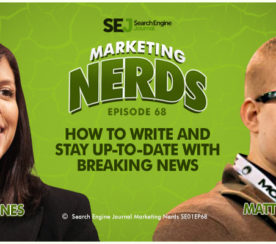 New #MarketingNerds Podcast: How to Write and Stay Up-to-Date With Breaking News
