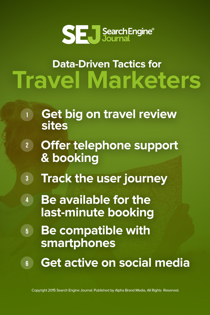 7 Data-Driven Tactics Travel Marketers Need to Use Now | SEJ