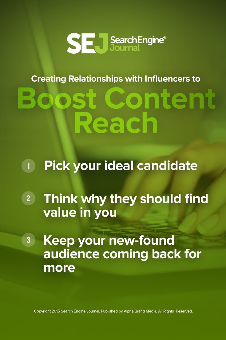 How to Create Relationships With Influencers   SEJ
