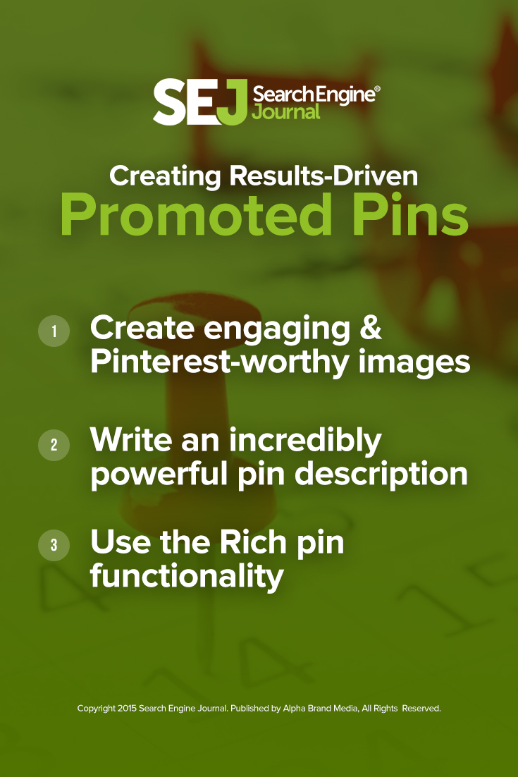Creating Results Driven Promoted Pins