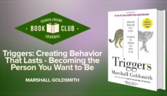 SEJ Book Club: Triggers by Marshall Goldsmith review
